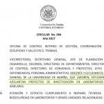 CIRCULAR 004 ESTRICTA OBSERVANCIA NORMAS DE BIOSEGURIDAD DEF-001