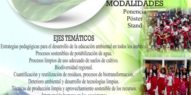 SIMPOSIO EDUCACIÓN Y AMBIENTE EN EL ENTORNO REGIONAL
