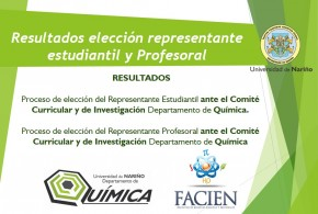 Resultados Elecciones Representantes Comité Curricular y de Investigación