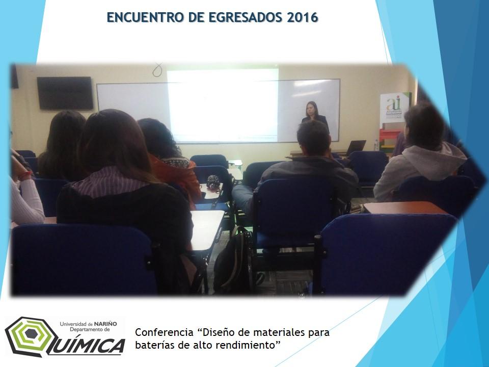 ENCUENTRO EGRESADOS 2016-2