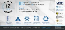III Congreso Colombiano de Bioquímica y Biología Molecular C2B2