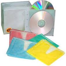 Sobre plastico archivable