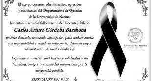 Condolencias CACB