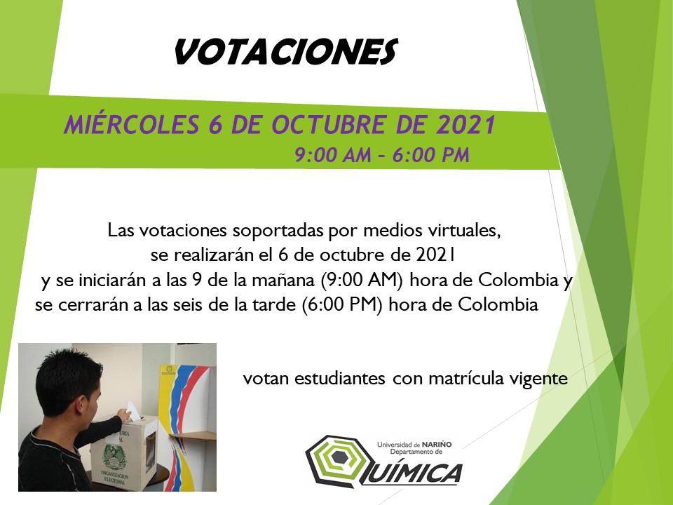 VOTACIONES EST3